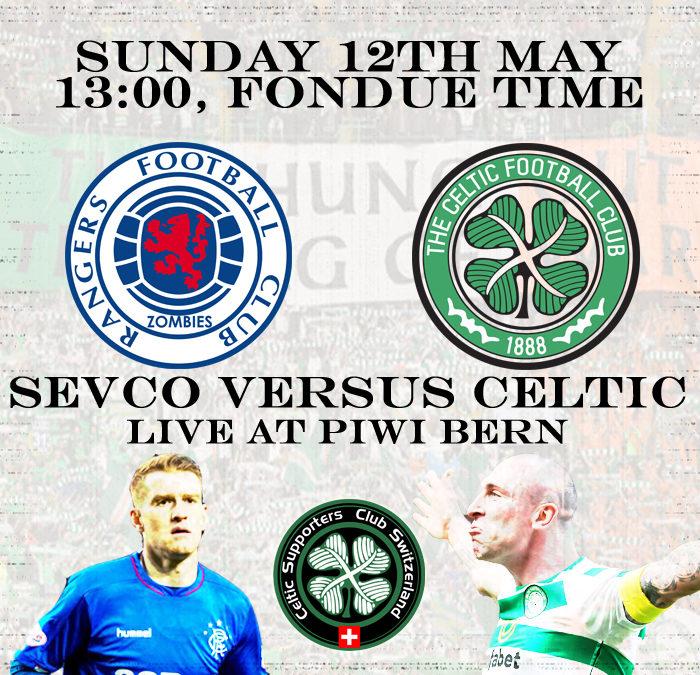 Celtic versus Sevco at Piwi Bern
