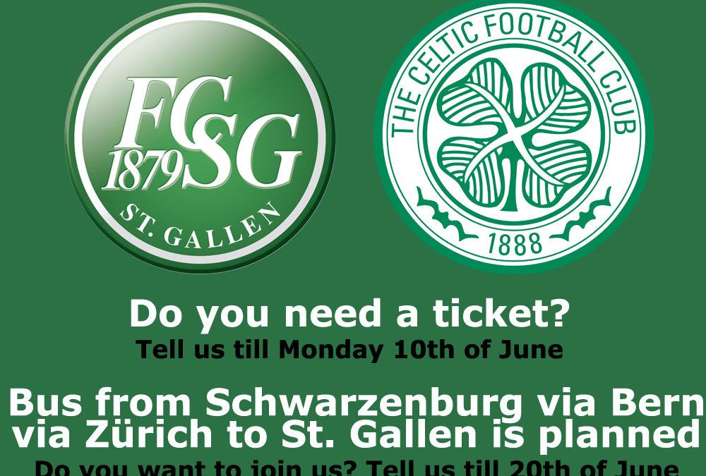 Friendly game in St. Gallen