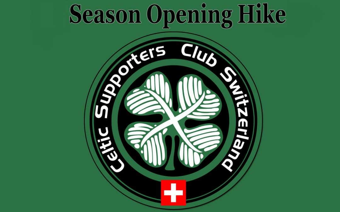 Season opening hike
